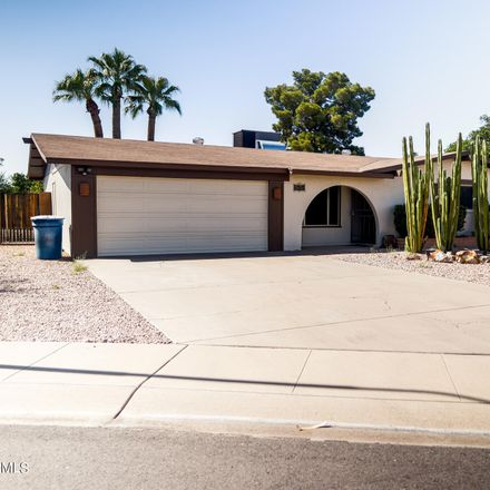 Rent this 4 bed house on 4712 South Rockford Drive in Tempe, AZ 85282