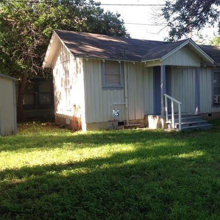 Rent this 1 bed house on 925 Vine Street in Abilene, TX 79602