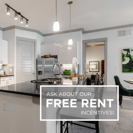 Rent this 4 bed apartment on 6378 President George Bush Highway in Garland, TX 75044