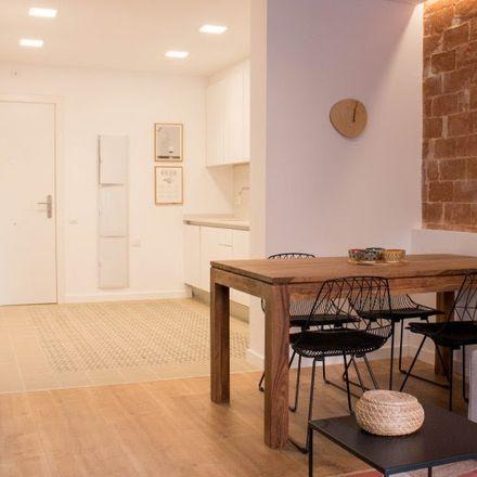 Rent this 1 bed apartment on Carrer de Berna in 08023 Barcelona, Spain
