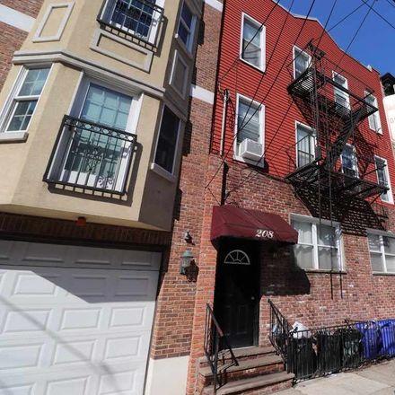 Rent this 2 bed apartment on 208 Adams Street in Hoboken, NJ 07030