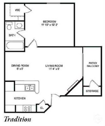 Rent this 1 bed apartment on 1713 Gandor Cove Lane in Matthews, NC 28105