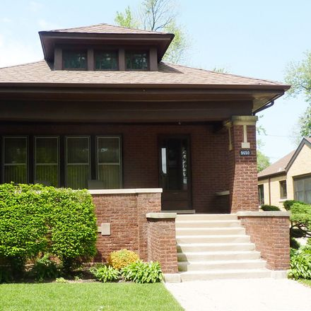 Rent this 3 bed house on 9650 South Hoyne Avenue in Chicago, IL 60643