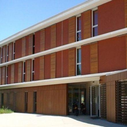 Rent this 1 bed apartment on Maison Universitaire Internationale in Rue Serge Reggiani, 34296 Montpellier
