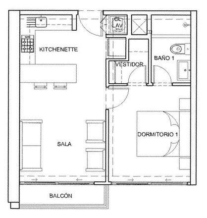 Rent this 0 bed apartment on Barranco Tennis Club in San Martín Avenue 790, Barranco