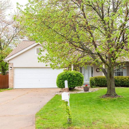 Rent this 3 bed house on 1388 Southgate Drive in Saint Peters, MO 63304