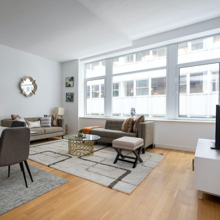 Rent this 2 bed condo on Real Deal in 59 John Street, New York