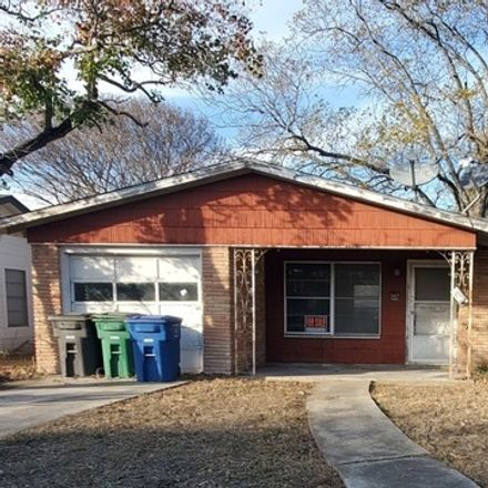 Rent this 3 bed house on 347 Goodhue Avenue in San Antonio, TX 78218