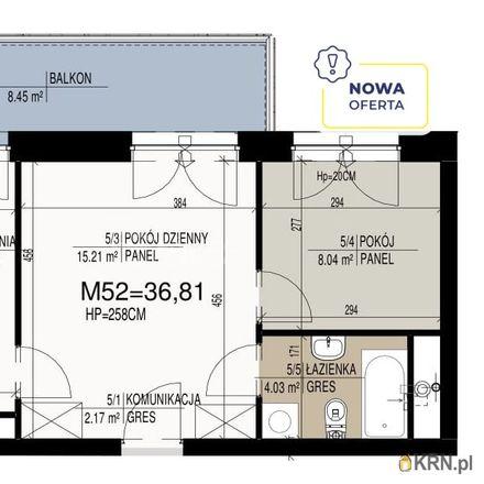 Rent this 2 bed apartment on Aleja Jana Pawła II in 15-685 Białystok, Poland