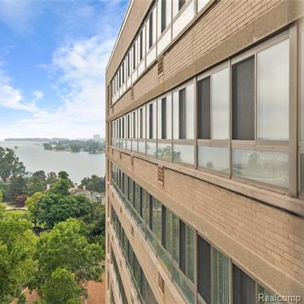 Rent this 2 bed condo on 8900 East Jefferson Avenue in Detroit, MI 48214