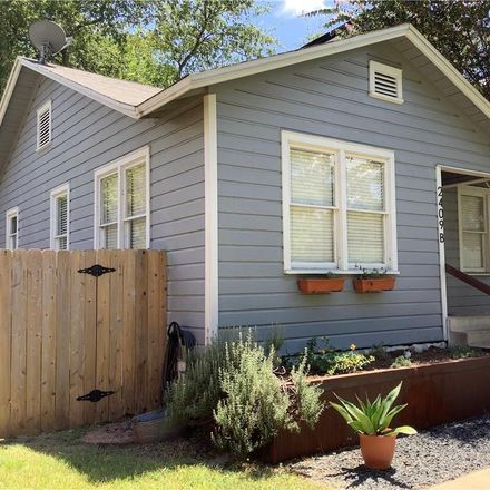 Rent this 2 bed house on 2409 Durwood Street in Austin, TX 78704