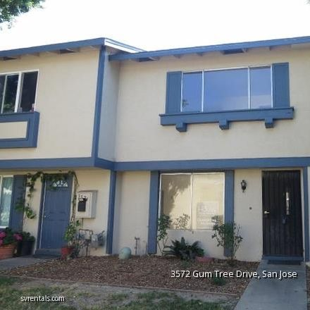 Rent this 3 bed townhouse on 3572 Gum Tree Drive in San Jose, CA 95111