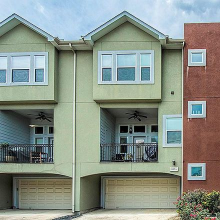 Rent this 3 bed condo on 1137 West 24th Street in Houston, TX 77008
