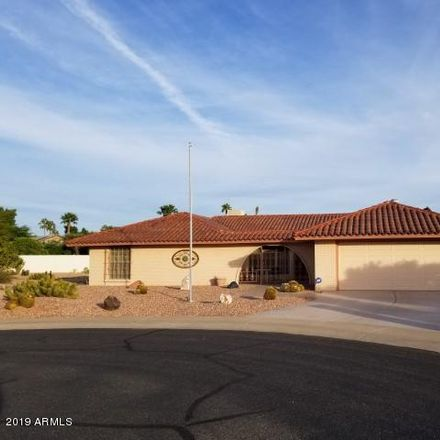 Rent this 3 bed house on 19017 North Palo Verde Drive in Sun City, AZ 85373