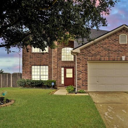 Rent this 4 bed house on 21703 Prairie Spring Lane in Harris County, TX 77379