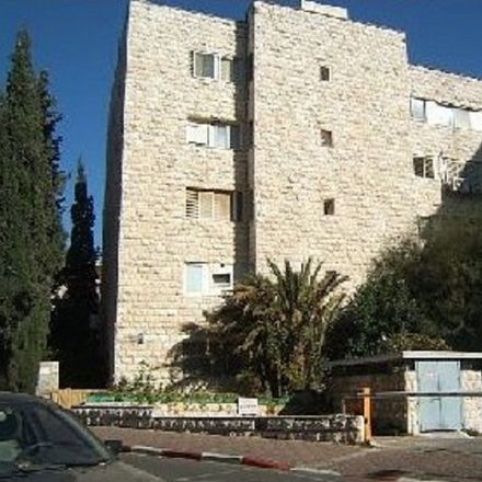 Rent this 3 bed apartment on Avraham Mapu 2 in Jerusalem, Israel