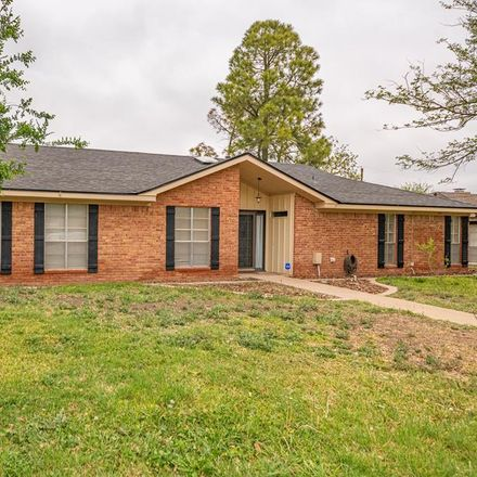 Rent this 4 bed house on 2810 Metz Drive in Midland, TX 79705