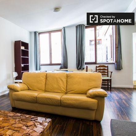 Rent this 1 bed apartment on Rue Sainte-Catherine - Sint-Katelijnestraat 28 in 1000 Ville de Bruxelles - Stad Brussel, Belgium