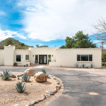 Rent this 5 bed house on 8180 East Rawhide Trail in Catalina Foothills, AZ 85750