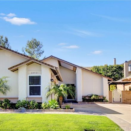 Rent this 3 bed house on 22021 Calderas in Mission Viejo, CA 92691
