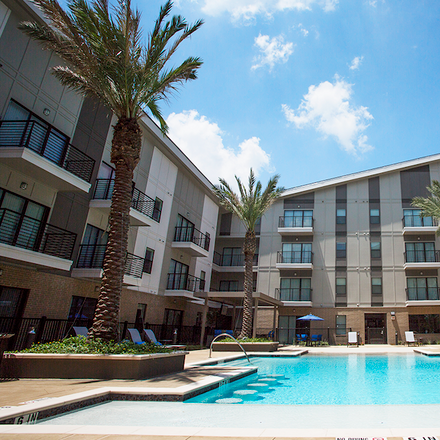 Rent this 1 bed apartment on 8950 Clarkcrest Street in Houston, TX 77063