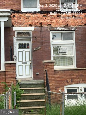 Rent this 3 bed townhouse on 2736 Kinsey Avenue in Baltimore, MD 21223