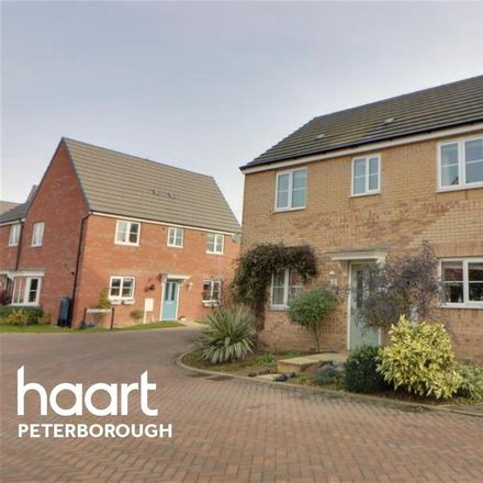 Rent this 3 bed house on Lander Crescent in Peterborough PE7 0LZ, United Kingdom