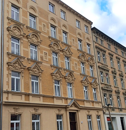 Rent this 3 bed apartment on Bruckdorfer Straße 5 in 06112 Halle (Saale), Germany