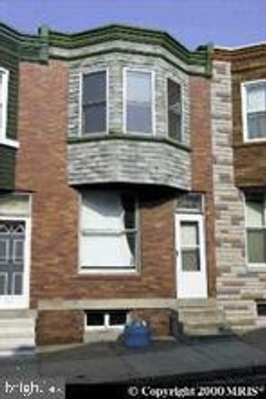 Rent this 3 bed townhouse on 220 Furrow Street in Baltimore, MD 21223