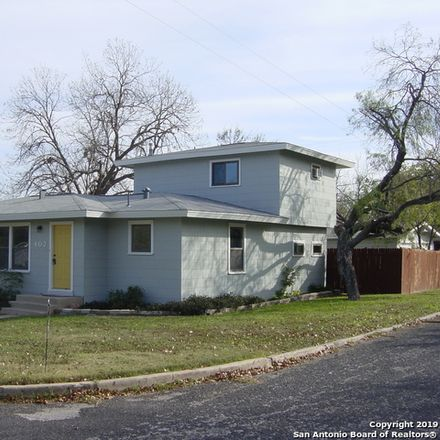 Rent this 4 bed house on 402 Blakeley Drive in San Antonio, TX 78209