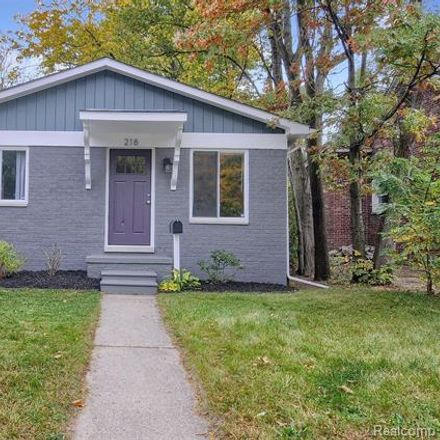Rent this 4 bed house on 218 Saint Louis Street in Ferndale, MI 48220