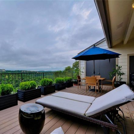 Rent this 3 bed condo on 1314 Falcon Ledge Drive in Austin, TX 78746
