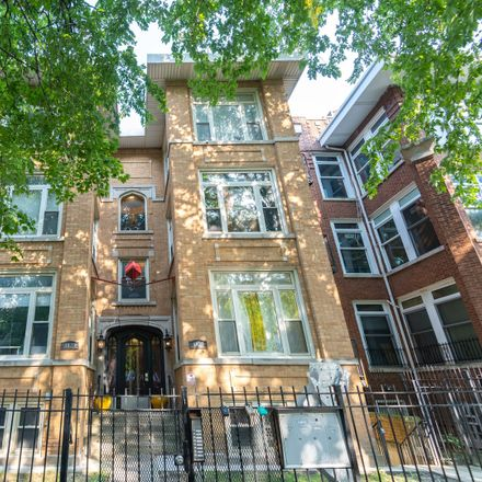 Rent this 2 bed condo on 4821-4823 North Sawyer Avenue in Chicago, IL 60625