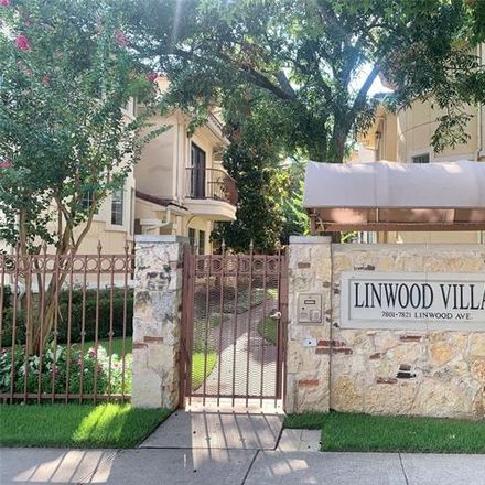Rent this 3 bed house on 7801 Linwood Avenue in Dallas, TX 75209
