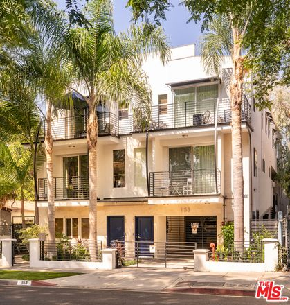 Rent this 3 bed townhouse on 1153 North Formosa Avenue in West Hollywood, CA 90046