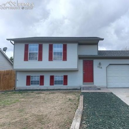 Rent this 4 bed house on 4218 Halstead Circle in Colorado Springs, CO 80916