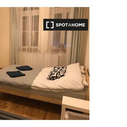Rent this 2 bed room on Hotel Olšanka in Chelčického, 130 05 Prague