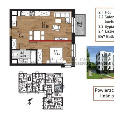 Rent this 2 bed apartment on Bieżanowska 253a in 30-836 Krakow, Poland