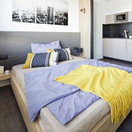 Rent this 1 bed apartment on Studentenwohnheim in Altenhöferallee 70, 60438 Frankfurt