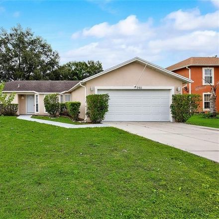 Rent this 3 bed house on 915 Derbyshire Dr in Kissimmee, FL