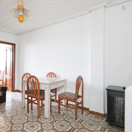 Rent this 3 bed apartment on Carrer de Tavernes Blanques in 46019 Valencia, Spain