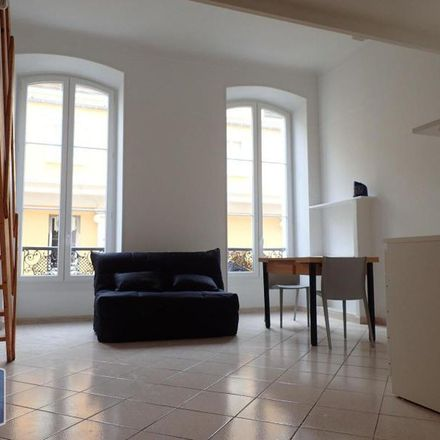 Rent this 1 bed apartment on 26 Rue de Paris in 06000 Nice, France