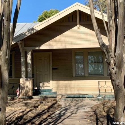 Rent this 3 bed house on 313 Berkshire Avenue in San Antonio, TX 78210