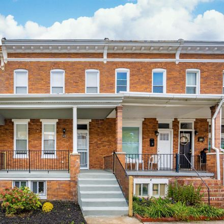 Rent this 3 bed townhouse on 629 East 37th Street in Baltimore, MD 21218