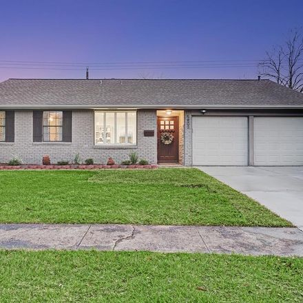 Rent this 3 bed house on 5803 Cartagena Street in Houston, TX 77035