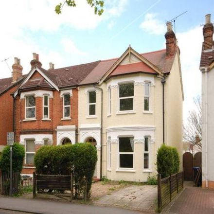 Rent this 5 bed house on H. G. Wells House in 141 Maybury Road, Woking GU21 5JR