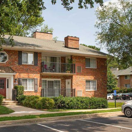Rent this 1 bed apartment on 9876 Fairfax Square in Fairfax, VA 22031