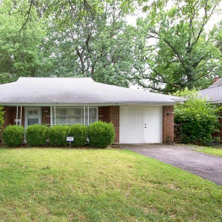 Rent this 3 bed house on 7318 Canton Avenue in University City, MO 63130