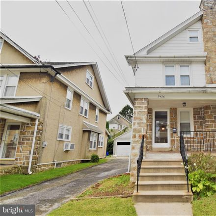 Rent this 4 bed townhouse on 7426 Rogers Avenue in Upper Darby, PA 19082