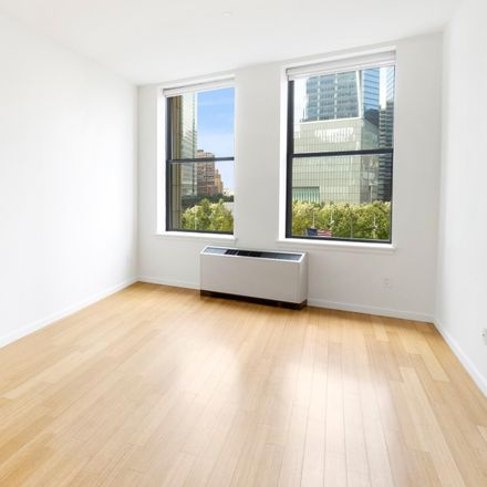 Rent this 1 bed apartment on Westfield World Trade Center in 90 West Street, New York